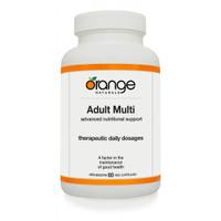 Orange Naturals Adult Multi, 60 Vegetable Capsule | NutriFarm.ca