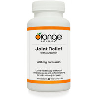 Orange Naturals Joint Relief, 45 Vegetable Capsules | NutriFarm.ca