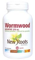 New Roots Wormwood 270 mg, 100 Capsules | NutriFarm.ca