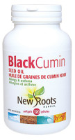 New Roots Black Cumin Seed Oil 500 mg, 120 Softgels | NutriFarm.ca