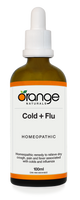 Orange Naturals Cold + Flu Homeopathic, 100 ml | NutriFarm.ca