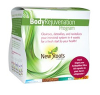 New Roots Body Rejuvenation Program (4 weeks), 1 kit | NutriFarm.ca