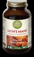 Purica Lion's Mane, 120 Veg Caps | NutriFarm.ca