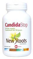 New Roots Candida Stop, 180 Capsules (30-Day supply) | NutriFarm.ca