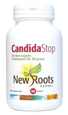 New Roots Candida Stop, 90 Capsules (15-Day supply) | NutriFarm.ca