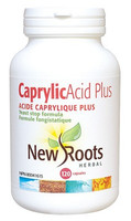 New Roots Caprylic Acid Plus, 120 Capsules | NutriFarm.ca