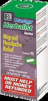 Bell Migraid Headache Relief 680 mg, 30 Capsules   NutriFarm.ca