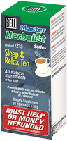Bell Sleep & Relax Tea, 20 bags (1.5 g each) | NutriFarm.ca