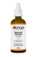 Orange Naturals Seasonal Allergies for Kids Homeopathic, 100 ml | NutriFarm.ca