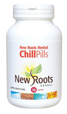 New Roots Chill Pills, 30 Capsules | NutriFarm.ca