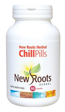 New Roots Chill Pills, 60 Capsules | NutriFarm.ca