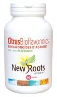 New Roots Citrus Bioflavonoids 650 mg, 90 Capsules | NutriFarm.ca