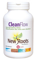 New Roots Clean Flow, 90 Capsules | NutriFarm.ca