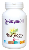 New Roots Co-Enzyme Q10 300 mg, 30 Capsules | NutriFarm.ca