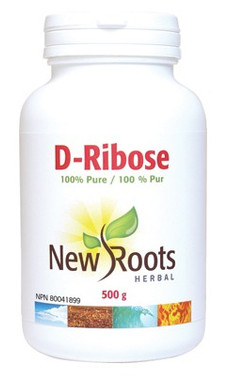 New Roots D-Ribose, 500 g | NutriFarm.ca