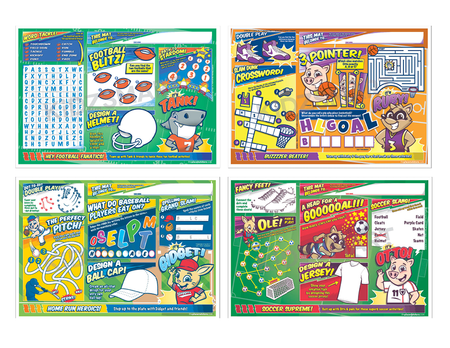 VPPSP Sports Variety pack fronts