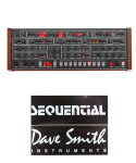 Dave Smith Instruments Sequential Prophet-6 Desktop - 6-Voice Polyphonic Analog Synthesizer