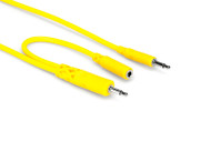 Hosa CMM-545Y Hopscotch Patch Cables 5 pc 1.5 ft