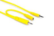 Hosa CMM-545Y Hopscotch Patch Cables 5 pc 1.5 ft