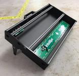 Intellijel 7U x 104HP Performance Case Stealth Black - 2 Tier + 1U with Power
