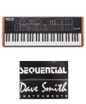 Dave Smith Instruments Prophet Rev2 16-Voice - Polyphonic Analog Synthesizer