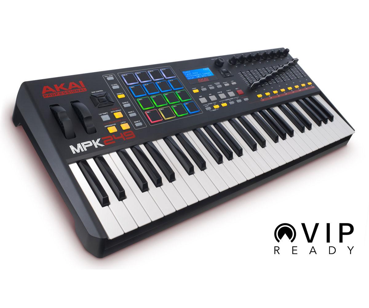 Akai Professional MPK249 Keyboard Controller - Three Wave Music