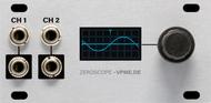 Intellijel Zeroscope 1U - Dual Channel Oscilloscope, Frequency Meter and Tuner