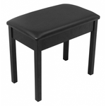 On-Stage KB8802B Keyboard / Piano Bench (Black)