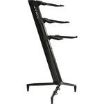 Stay 47 Triple tier stand black with gig bag.