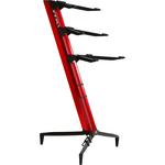 Stay Music Tower Stand Triple Tier 1300/03 Red with Custom Bag