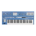 UDO Audio Super 6 - 12 Voice Polyphonic Binaural Analog Hybrid Synthesizer Blue