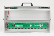 Intellijel 7U x 104HP Performance Case Silver - 2 Tier + 1U with Power