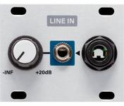 Intellijel Line In 1U Balanced Line Level Input to Eurorack Level Shifter