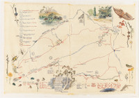 Kosciuszko Fishing Map