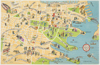 Greetings from the heart of Sydney NSW, c. 1945-55