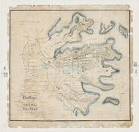 Map of the City of Sydney, 1848
