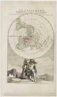 Planisphere representant toute l'etendue du monde dans l'ordre qu'on a suivi dans ce livre.