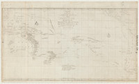 Chart of part of the South Sea, shewing the tracts & discoveries made by His Majestys ships Dolphin,…1773