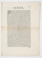 Señor. : PEDRO Fernandez Quiros digo: Que gouernãdo el Peru el Marques de Cañete el año de 1595 ...