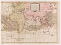 Nova & accuratissima totius terrarum tabula nautica Variationum magneticarum index juxta observationes, right side, 1700