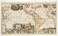 Carte tres curieuse de la Mer du Sud