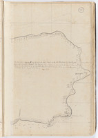 Tahiti by Samuel Wallis, sketches bound within 'The English pilot'. Right side.