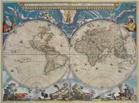 Nova et Accuratissima Totius Terrarum Orbis Tabula  from Le grand atlas, 1667