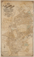 Map of the Municipalities of the Inner West - A0 size