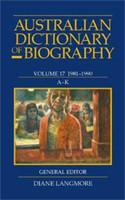 Australian dictionary of biography. (Hard-Bound, 1966-2012)
