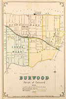 Burwood Suburban Map
