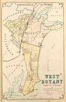 West Botany Suburban Map