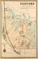 Concord Suburban Map