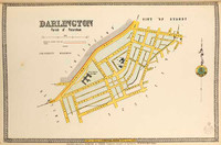 Darlington Suburban Map