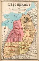 Leichhardt Suburban Map